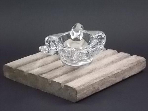 """Coupelle """"Hirondelle"""", en Cristal. De la maison Bayer Cristal. Edité dans les années 60/70"""