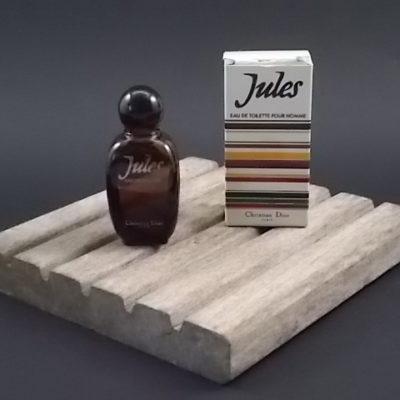 Miniature Jules Eau de toilette Homme 9 ml. Lancé en 1980. De la maison Dior