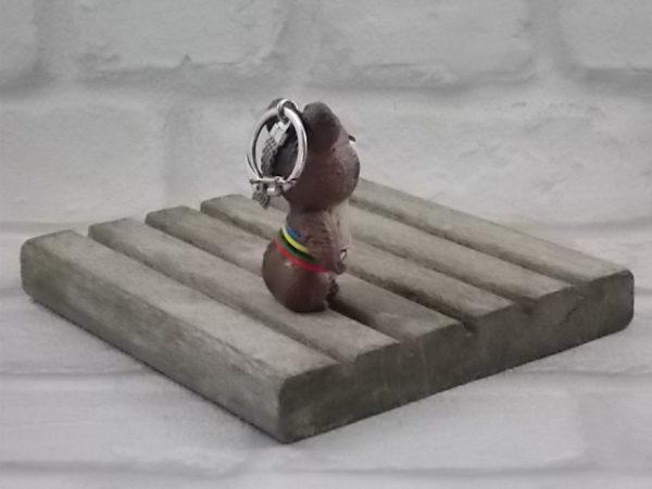 """Porte clés """"Misha"""" mascotte officiel des jeux olympique de Moscou de 1980."""