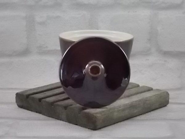 Sucrier N°2, en céramique Marron foncé dégradé, de Villeroy & Boch