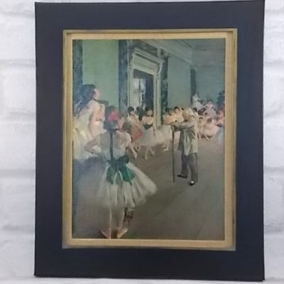 "Reproduction ""La classe de danse"" de Degas N° 323 by S.P.A.D.E.M"
