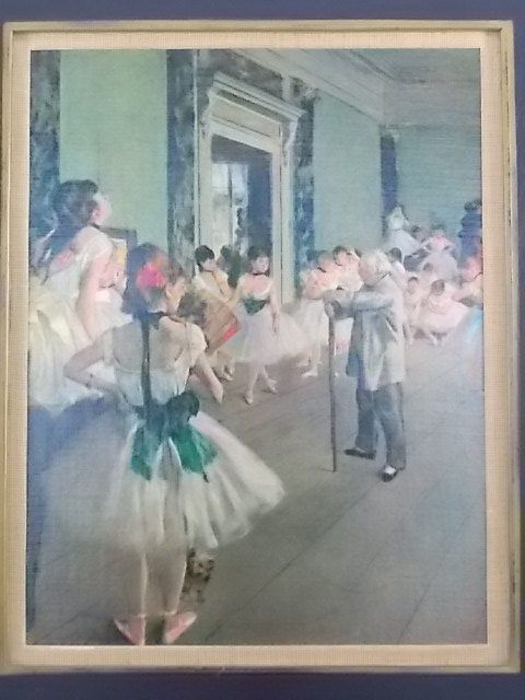 """Reproduction """"La classe de danse"""" de Degas N° 323 by S.P.A.D.E.M"""