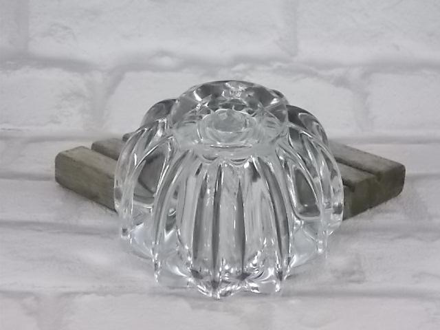 """Bougeoir ou vide poche Cristal de """"daum"""" tour côtelé arêtes arrondies"""