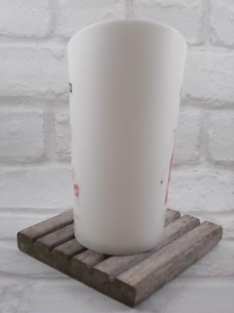 """Pichet """"Martini"""" l'Art de servir en plastique Blanc, bec verseur rouge"""